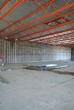 New Warehouse Facility Construction Royalty Free Stock Image