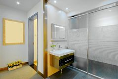 New wash room Royalty Free Stock Image