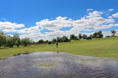 New Water Hazard Stock Photography
