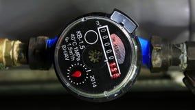 New water meter, stock video footage