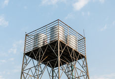 New water tank Stock Images