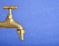 New water tap Royalty Free Stock Photography