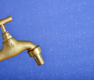 New water tap Royalty Free Stock Images