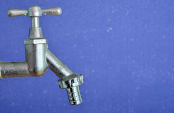 New water tap Royalty Free Stock Image