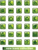 New web icons Royalty Free Stock Images