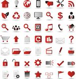 New web icons Stock Images