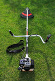 New weed trimmer Royalty Free Stock Images