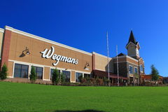 New Wegmans Store. Wegmans is a major grocery chain store in Mid-Atlantic region, USA Royalty Free Stock Photo