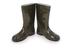 Free New Wellington Boots Clipping Path Stock Photography - 83565312