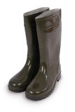New wellington boots (Clipping path) Royalty Free Stock Photo