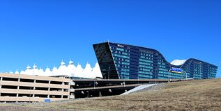 The New Westin Hotel Denver International Airport Denver Colorado Royalty Free Stock Image