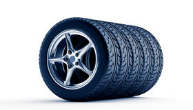 New wheels Royalty Free Stock Images