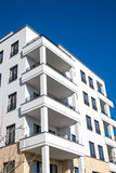 New white apartment house Royalty Free Stock Photos