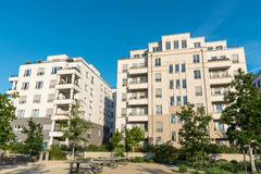 New white apartment houses in Berlin. New white apartment houses seen in Berlin, Germany Royalty Free Stock Image