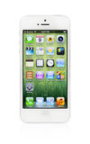 New White Apple iPhone 5 Stock Photography