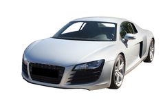 New white auto Royalty Free Stock Images