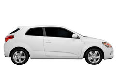 New white car Royalty Free Stock Image