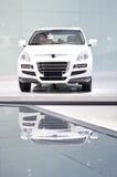 New white  car Royalty Free Stock Image