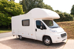 New White mobile-home Stock Photography