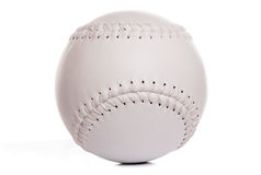 New white softball Royalty Free Stock Photos
