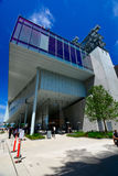 New Whitney Museum in NYC Stock Photos