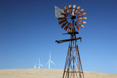 New Windmills for Old Stock Photography