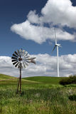 New Windmills for Old - Wind Turbine Stock Photo