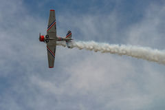 NEW WINDSOR, NY - SEPTEMBER 3, 2016: The GEICO Skytypers Air Sho Stock Image