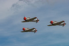 NEW WINDSOR, NY - SEPTEMBER 3, 2016: The GEICO Skytypers Air Sho Stock Images