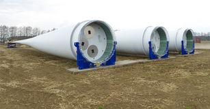 New windturbine Stock Photo