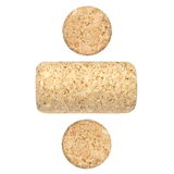 New wine corks isolated on white Royalty Free Stock Photos