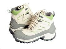 New winter hiking boots Stock Image