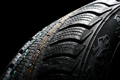 Free New Winter Tire Royalty Free Stock Photography - 3436667