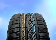 New winter tire Royalty Free Stock Images