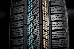 New winter tire Stock Photography