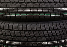 New winter tire tread Royalty Free Stock Photography