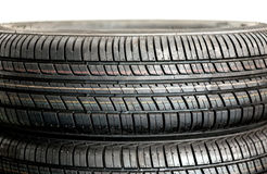 New winter tyres Royalty Free Stock Images