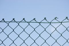 New wire security fence Royalty Free Stock Photos