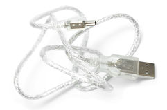 New wire USB Royalty Free Stock Photography
