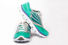 New Woman Sport Shoes Stock Images