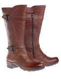 New woman winter boots Stock Photo