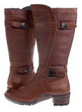 New woman winter boots Stock Images