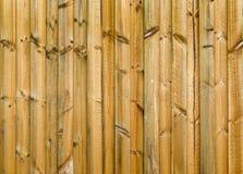 New Wood Fence Stock Image