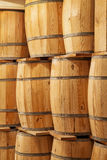 New wooden barrels Royalty Free Stock Image