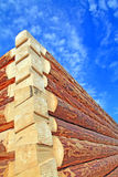 New wooden building Royalty Free Stock Photo