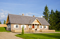 New wooden country house for tourists Stock Photography