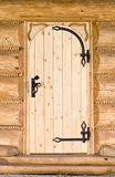 New wooden door Stock Photo