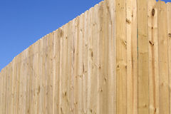 New wooden fence background. A new wooden fence background Stock Images