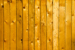 New wooden fence Royalty Free Stock Images