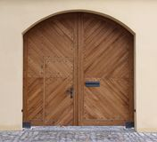 New wooden gate Stock Photos
